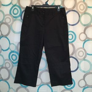 The Limited Pants - The Limited capris black size 8 new