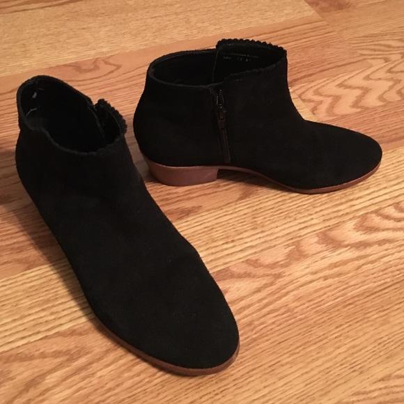 Jack Rogers Bailee Black Booties Boots size 7.5
