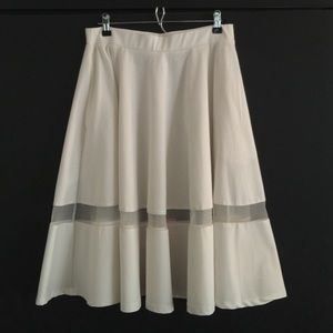 Lavish Alice Peekaboo Full Skirt