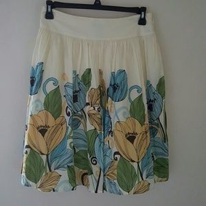 Apt 9 Dresses & Skirts - Last Call Donating Fully Lined Full Flowered Skirt