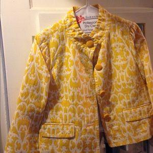 Vintage Jcrew cropped blazer