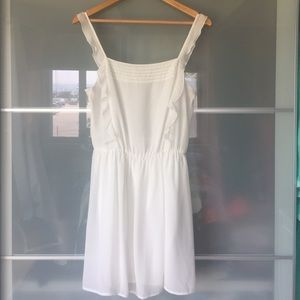 Zara Apron Style Ruffle Dress