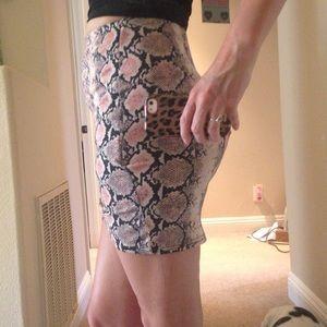 Boohoo Skirts - Wrap Over Mini Skirt