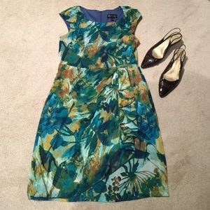 Connected Apparel Dresses & Skirts - Donating soon! Last chance! Leaf Print Dress