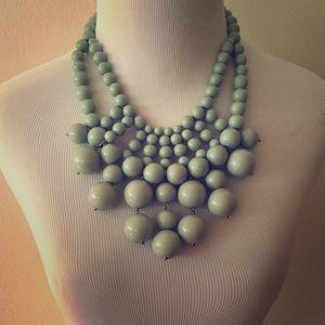 Baublebar Mint Green Statement Necklace