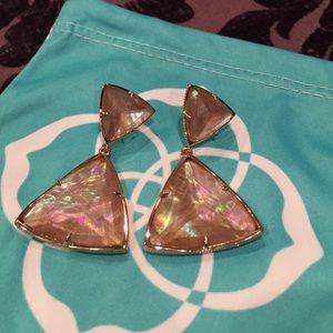 Kendra Scott Maury Brown Pearl Earrings