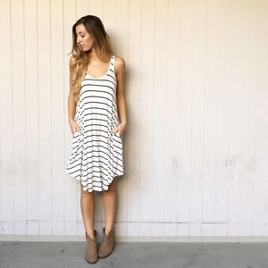 LAST ITEM | new | striped midi dress