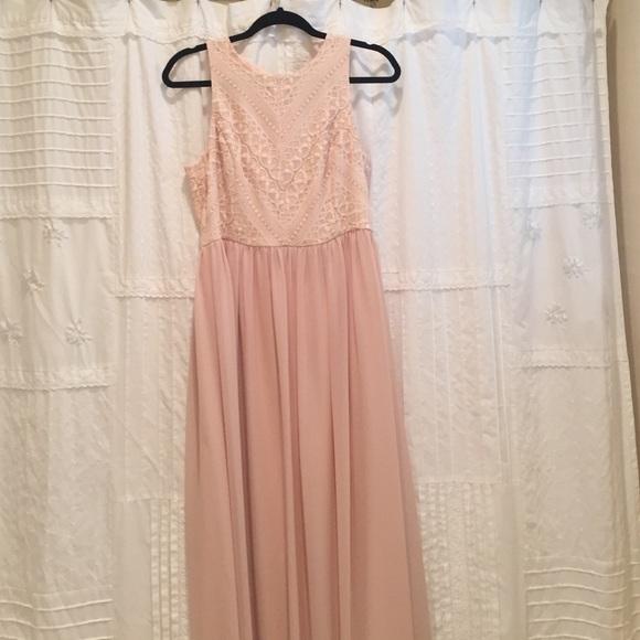 Gianni Bini Dresses Blush Formal Dress Poshmark