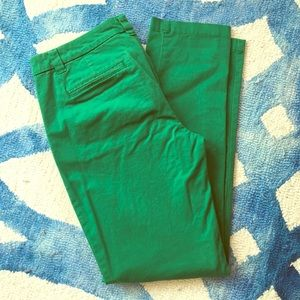 Gap Pants - Green Gap Broken In Khakis
