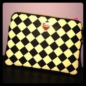 Betsey Johnson Handbags - ‼️price drop‼️ Betsey Johnson wristlet pouch