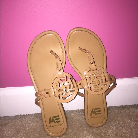 9432d90b2f7 American Eagle by Payless Shoes - American Eagle Tory Burch Inspired Sandals