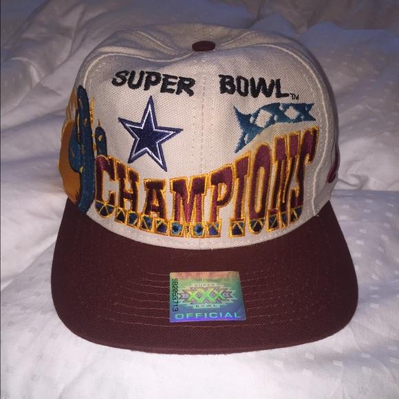 Vintage Dallas Cowboys Super Bowl SnapBack Hat 333c5062a