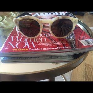 New illesteva Leonard 2 round mirrored sunglasses