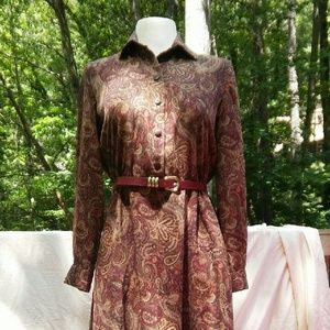 Appleseed's Dresses & Skirts - LIBRARIAN Paisley Dress