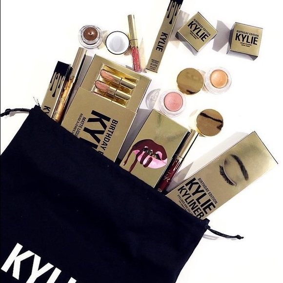 Kylie Cosmetics Other - Kylie Birthday Bundle Limited Edition