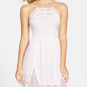 Free People Dresses & Skirts - ⏳1 day sale⏳Free People lace inset slip dress