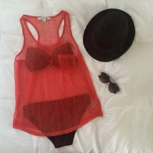 Brand New Coral Top