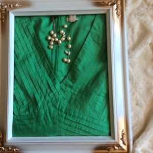 J. Crew Dresses & Skirts - Cute Green v neck Dress