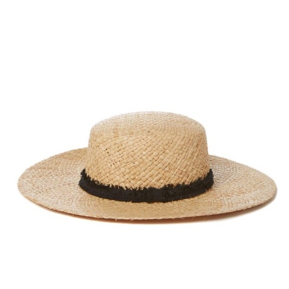 00b011e8cdc16 Straw Boater Hat - Brand New W  Tags