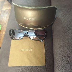 Gucci sunglasses. Never worn.