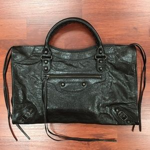 Balenciaga Handbags - Balenciaga Classic City Leather Motorcycle Bag