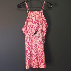 Sabo Skirt pink paisley romper
