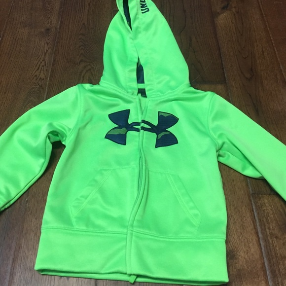 f75b146d3 Under armour kids neon yellow navy hood jacket. M_57af8f027f0a05c3bc03db57