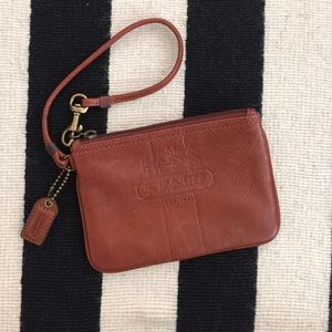 Coach Handbags - Authentic Coach cognac wristlets