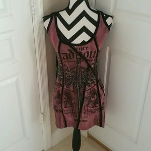 Salvage Dresses & Skirts - Salvage Graphic Dress NWOT