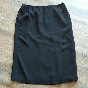 Allison Daley Dresses & Skirts - Like New Fully lined Black Skirt 14P