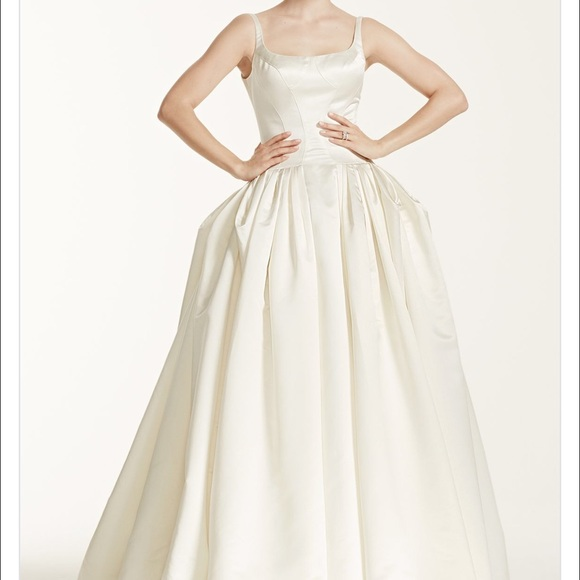 7 off zac posen dresses skirts truly zac posen bridal for Truly zac posen wedding dress with sequin detail