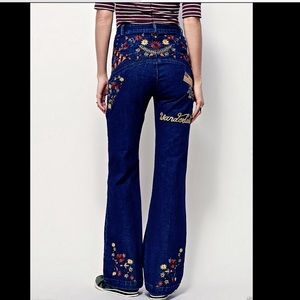 Free People Denim - Free People X Spell & The Gypsy Flare Jeans