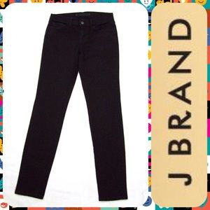 "J Brand Denim - J BRAND Black Denim Low-Rise Skinny Jeans 28""x29"""