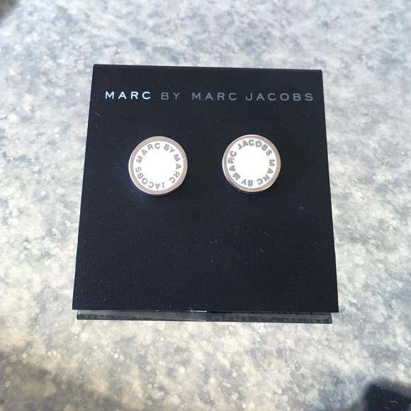 38c80ac1985c6 MARC JACOBS Enamel Logo Disc Earrings
