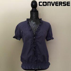 Converse Distressed Boho Top