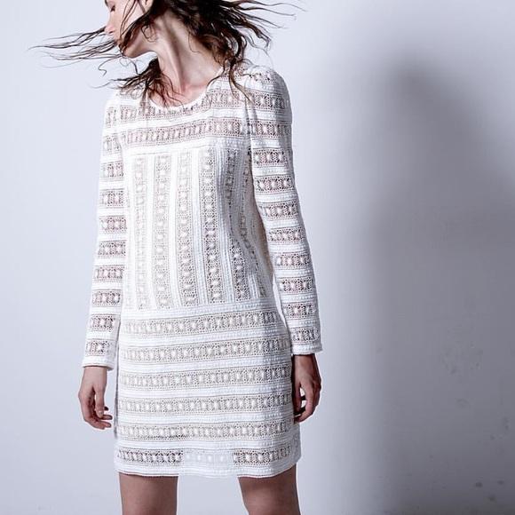 c53d178286ff7 Magali Pascal Dresses   Skirts - MAGALI PASCAL Alchemy Lace Dress IVORY