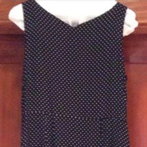 Dresses & Skirts - Black polka dot dress! Petite sizing.
