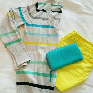 Old Navy Sweaters - Bright striped sweater