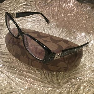 Coach Savannah Black Eyeglasses