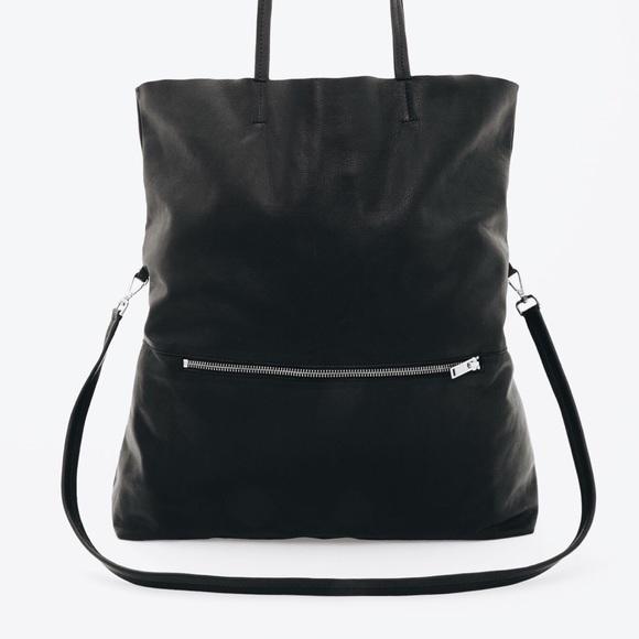 Unique COS Bags | Folded Leather Shopper | Poshmark RI79