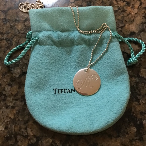 Tiffany co jewelry tiffany ss initial m necklace poshmark tiffany ss initial m necklace aloadofball Gallery