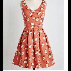 pumpkin orange dress - never worn.