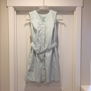 Gap Mint Dress with Pockets and Belt