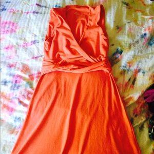 Pink Prana dress