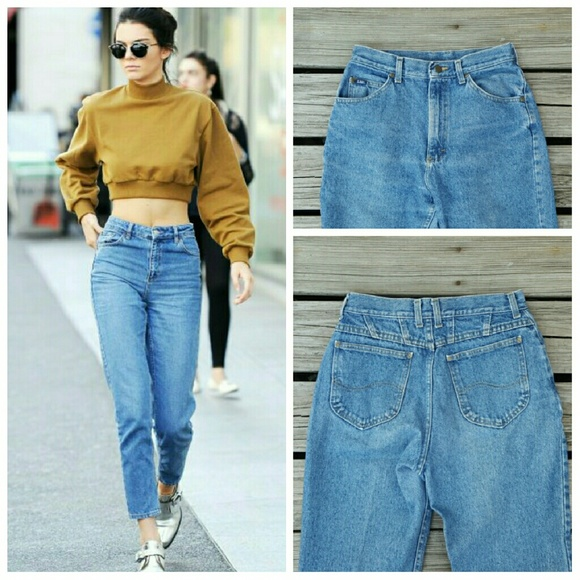 60% off Vintage Denim - ❌SOLD❌Vintage High Waisted Mom Jeans ...