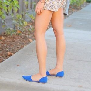 Shoemint Shoes - Like NEW Shoemint d'orsey cobalt blue flats
