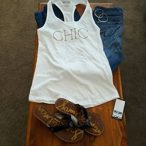 Salt Lake Clothing Tops - Last one! Medium totally chic fitted tank