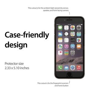 how to get glass screen protector off iphone