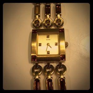 Guess watch-gold
