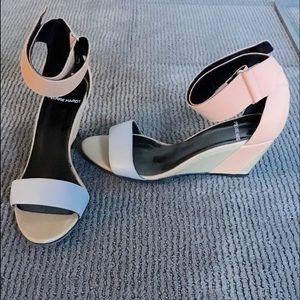 Pierre Hardy Shoes - Pierre Hardy Ankle Strap Wedge Sandal
